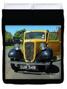 Austin Healey Seven 1937 Duvet Cover