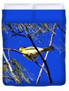 Australian Figbird Duvet Cover