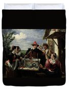 Autolycus Scene From 'a Winter's Tale' Duvet Cover