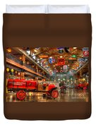 Automobile Paradise Duvet Cover