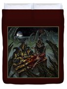 Autopsy Of The Damned  Duvet Cover
