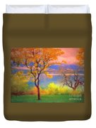 Autum Morning Duvet Cover