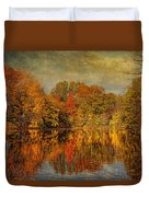 Autumn - Landscape - Tamaques Park - Autumn In Westfield Nj  Duvet Cover