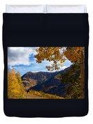 Autumn Above Aspen Duvet Cover