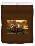 Autumn Acorns Duvet Cover