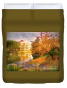 Autumn And Architecture Duvet Cover
