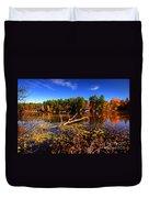 Autumn At Bomoseen Lake  Duvet Cover
