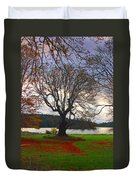 Autumn At British Camp Duvet Cover