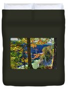 Autumn At Letchworth State Park Duvet Cover