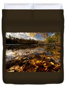 Autumn At Ragged Falls Duvet Cover