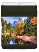 Autumn At Yosemite Duvet Cover
