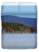 Autumn Backdrop Duvet Cover