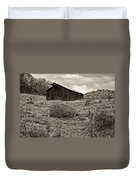 Autumn Barn Sepia Duvet Cover