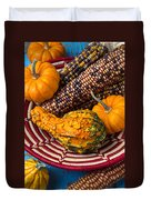 Autumn Basket  Duvet Cover by Garry Gay