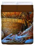 Autumn Basket Duvet Cover