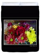 Autumn Boquet Duvet Cover