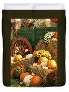 Autumn Bounty Vertical Duvet Cover