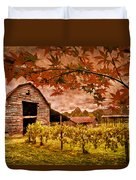 Autumn Cabernet Duvet Cover