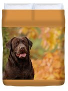 Autumn Chocolate Duvet Cover