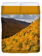 Autumn Colours At North Mountain Duvet Cover