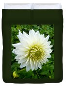 Autumn Dahlia Duvet Cover