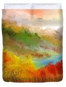Autumn Daze Duvet Cover