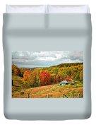 Autumn Farm 2 Duvet Cover