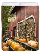 Autumn Farm Stand  Duvet Cover