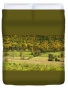 Autumn Farm Vista Duvet Cover