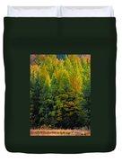 Autumn Fire Duvet Cover