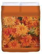 Autumn Garden Impressions Duvet Cover