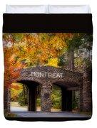 Autumn Gate Duvet Cover