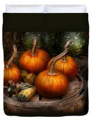 Autumn - Gourd - Pumpkins And Some Other Things  Duvet Cover