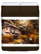 Autumn Grist Duvet Cover by Steve McKinzie