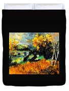 Autumn In Ardennes 672101 Duvet Cover