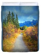 Autumn In Canada Duvet Cover