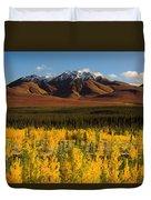 Autumn In Duke Creek Duvet Cover