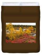 Autumn In Inari Duvet Cover