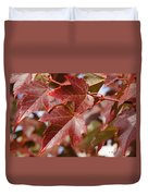 Autumn In My Back Yard Duvet Cover