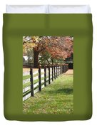 Autumn In New Jersey 2 Duvet Cover
