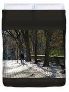 Autumn In New York 2 Duvet Cover