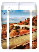 Autumn In North Carolina Duvet Cover