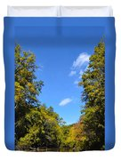 Autumn In Pennsylvania Duvet Cover