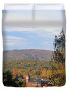Autumn In Plymouth Duvet Cover