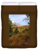 Autumn In Red Rock Canyon Duvet Cover