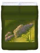 Autumn Joy Sedum Duvet Cover