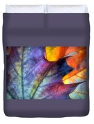 Autumn Leaf Abstract 2 Duvet Cover