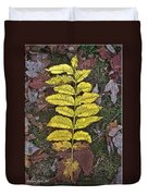 Autumn Leaf Art I Duvet Cover