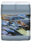 Autumn Leaves In Water IIi Duvet Cover
