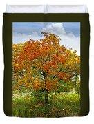 Autumn Maple Tree Duvet Cover